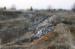 Ecocatastrophe Fotografia Stock