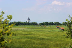 Ecocenter i Ungern Arkivfoton