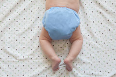 Ecofriendly Cloth Diaper Stock Image