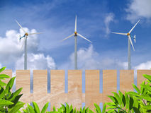 Ecofriendly energy Royalty Free Stock Photo
