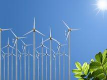 Ecofriendly energy Stock Photos