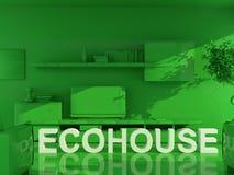 Ecohouse Photo libre de droits