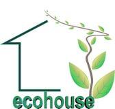 Ecohouse Images libres de droits