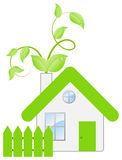 Ecohouse consept Royalty Free Stock Image