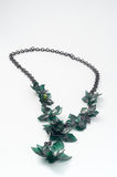 Ecojewelry halsband från återanvända plastic flaskor Royaltyfri Bild