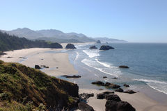 Ecola state park, Oregon coast & Pacific ocean. Royalty Free Stock Photography