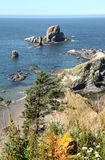 Ecola state park, Oregon coast & Pacific ocean. Stock Photo
