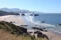 Ecola state park, Oregon coast & Pacific ocean. Stock Photography