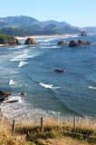 Ecola state park, Oregon coast & Pacific ocean. royalty free stock photo
