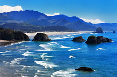 Ecola State Park Overlook Royalty Free Stock Photo