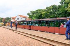 Ecoland, 2017年10月5日的一个著名主题乐园在济州海岛 图库摄影