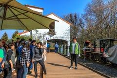 Ecoland Theme Park in Jeju Stock Photos