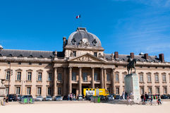 The Ecole Militaire (Military School) Stock Photos