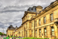 The Ecole Militaire (Military School) in Paris Stock Photo