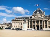 Ecole Militaire in Paris Stockbild