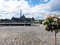 Ecole Militaire in Paris Royalty Free Stock Photos
