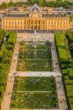 Ecole militaire paris city France Royalty Free Stock Image
