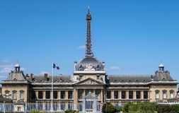 Ecole Militaire - Paris, France photo stock