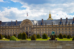 The Ecole Militaire in Paris, France. Stock Images
