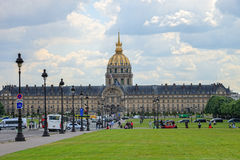 The Ecole Militaire in Paris, France Royalty Free Stock Image