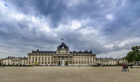 Ecole Militaire in Paris, France Royalty Free Stock Photo