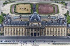 Ecole militaire of Paris Stock Photo