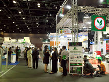 Ecolighttech亚洲2014年 免版税库存图片