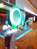 Ecolighttech亚洲2014年 库存照片