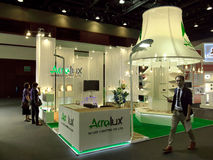 Ecolighttech Asie 2014 Photographie stock