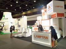 Ecolighttech Azië 2014 Stock Foto's
