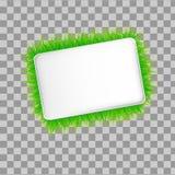 Ecología de la bandera del moder del vector Foto de archivo