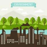 Ecología y ejemplo del concepto del ambiente Fotos de archivo
