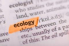 Ecología Fotografía de archivo