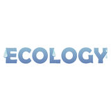 ecologe 库存例证