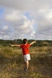 Ecologia amorosa del bambino Fotografia Stock