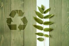 Ecologia, conservação e conceito da reciclagem Fotografia de Stock