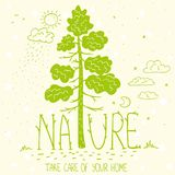 Ecologia da natureza da árvore Imagens de Stock