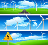 Ecologia e bandeiras naturais Fotografia de Stock
