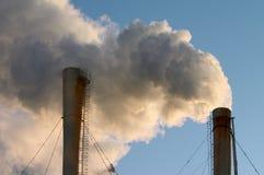 Ecologia ed inquinamento fotografia stock libera da diritti
