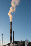 Ecologia ed inquinamento Fotografie Stock Libere da Diritti