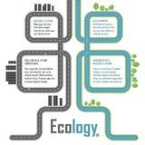 Ecologia, elementos do vetor Imagem de Stock Royalty Free