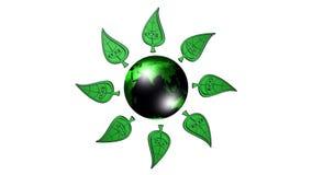Ecologia, fundo, animação Fotos de Stock Royalty Free
