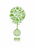 Ecologia globale Fotografie Stock