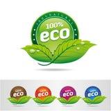 Ecologia, insieme dell'icona. Eco-icone Immagine Stock Libera da Diritti