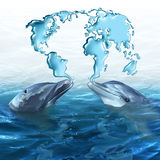 Ecologia marinha ilustração do vetor