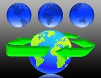 Ecologia nel mondo (08) Immagine Stock Libera da Diritti