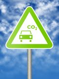 ecologic σημάδι Στοκ εικόνα με δικαίωμα ελεύθερης χρήσης