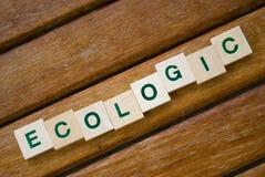 ECOLOGIC Royalty Free Stock Photography