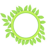 Ecologic frame Royalty Free Stock Photo