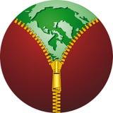 Ecologic globe Royalty Free Stock Image